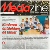 Artikel in Mediazine, december 2015